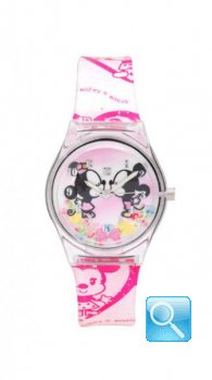 Orologio Disney Curties Minnie e Mickey rosa T0301