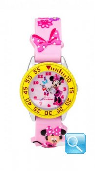 Orologio Disney Curties Minnie rosa T0317