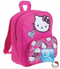 zainetto asilo hello kitty rosa fucsia 2013