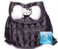 Zainetto backpack nero Hello Kitty-Camomilla