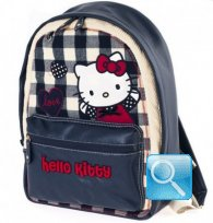 Zaino Campus Hello Kitty Blue