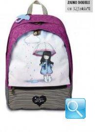 zaino scuola double gorjuss stripes ombrello collezione 2013