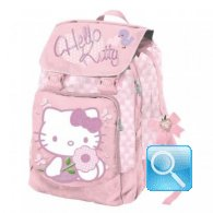 zaino hello kitty estensibile rosa