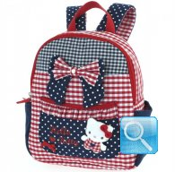 Zaino Asilo Hello Kitty L red&blue