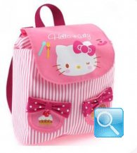 zaino hello kitty S pink