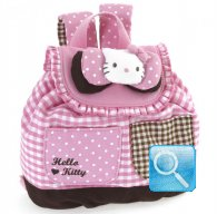 Zaino Hello Kitty S pink & brown