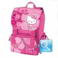 zaino hello kitty estensibile fucsia