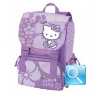 zaino hello kitty estensibile viola