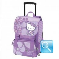 zaino trolley hello kitty viola