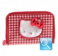 portafoglio hello kitty rosso