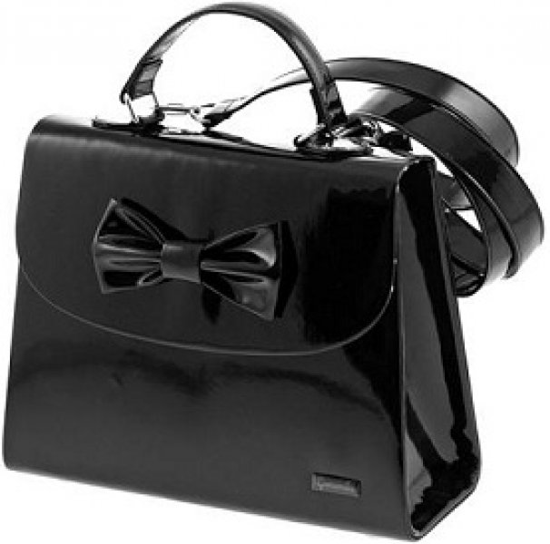borsa fiocco nero, novità camomilla, spedizione gratuita