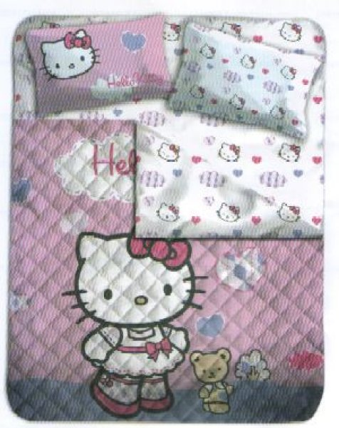 Trapunta Hello Kitty Gabel.Trapunta Hello Kitty Matrimoniale Oostwand